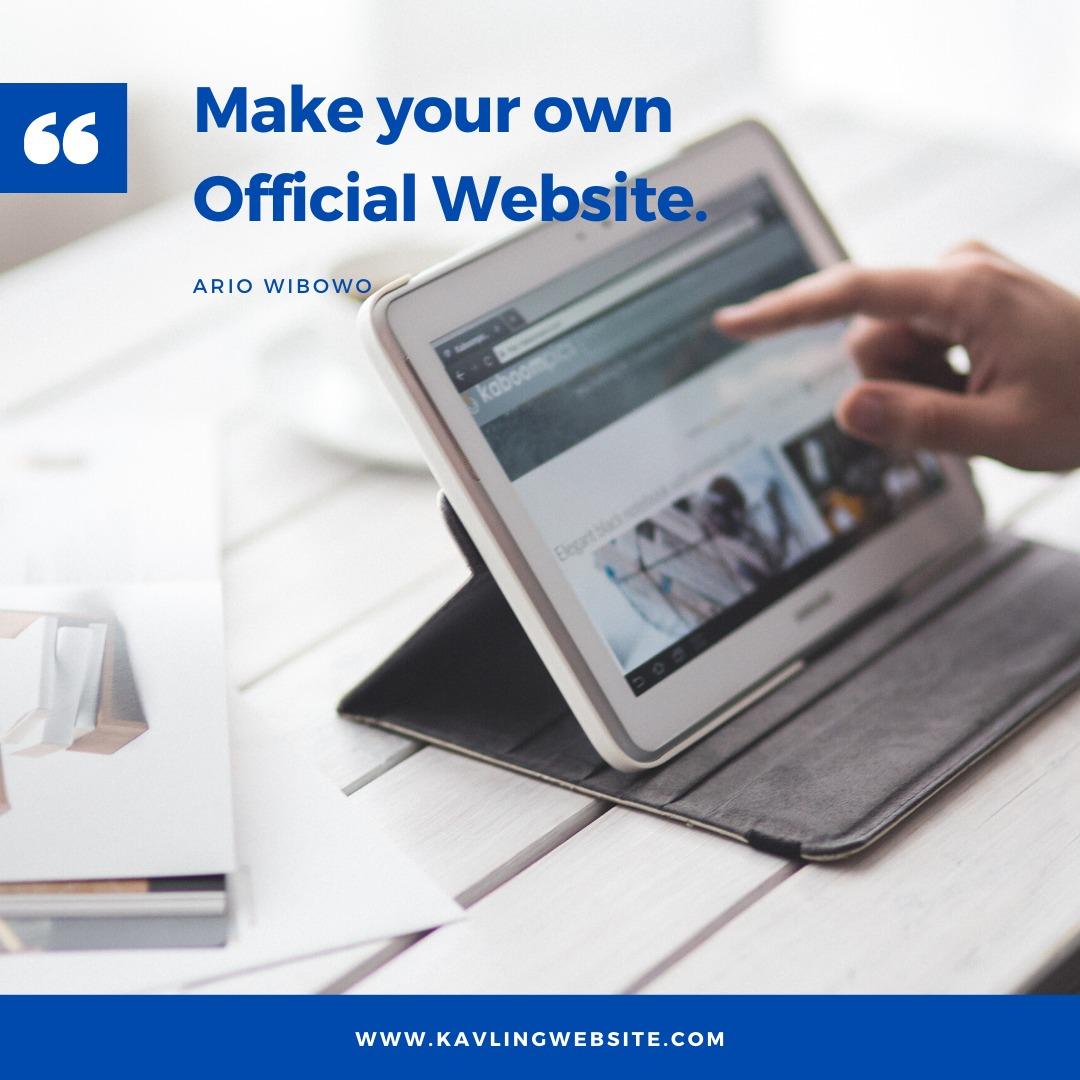 Kavling Website